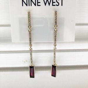 Nine West statement earrings